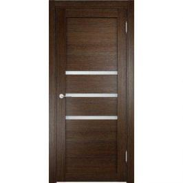 Дверь ELDORF Мюнхен-1 остекленная 1900х550 экошпон Дуб табак