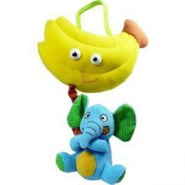 Развивающая игрушка Biba Toys Слон и банан BM658
