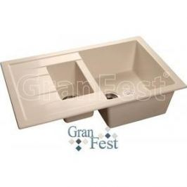 Мойка кухонная GranFest гранит 770x495 (Gf-Q775KL белая)