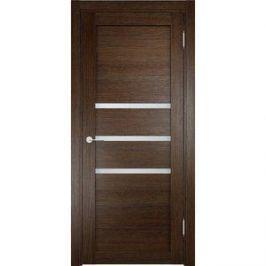 Дверь ELDORF Мюнхен-1 остекленная 1900х600 экошпон Дуб табак