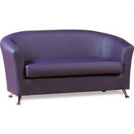 Диван СМК Бонн 040 2х к/з Санторини 0407 фиолетовый