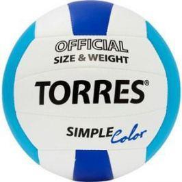 Мяч волейбольный любительский Torres Simple Color