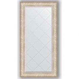 Зеркало с гравировкой поворотное Evoform Exclusive-G 80x162 см, в багетной раме - виньетка серебро 109 мм (BY 4297)