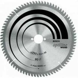 Диск пильный Bosch 254х30мм 40зубьев Optiline Wood (2.608.640.443)