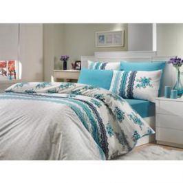Комплект постельного белья Hobby home collection 1,5 сп, ранфорс, Camila, синий (1501000210)