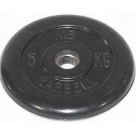 Диск обрезиненный Barbell 51 мм 5 кг