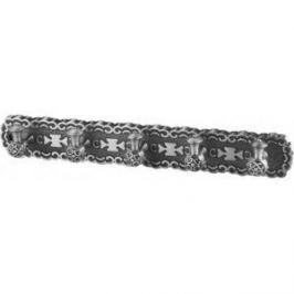 5 крючков на планке ZorG Antic серебро (AZR 18 SL)