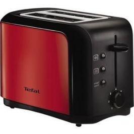 Тостер Tefal TT356E30 красный/черный