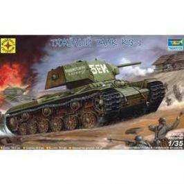 Моделист Модель тяжелый танк КВ-1, 1:35 303536/303527