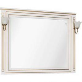 Зеркало Aquanet Паола 120 белый/золото (186105)