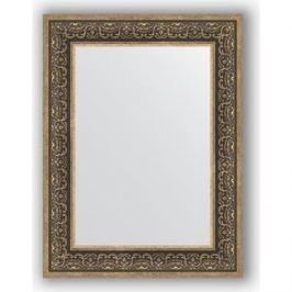 Зеркало в багетной раме поворотное Evoform Definite 63x83 см, вензель серебряный 101 мм (BY 3064)