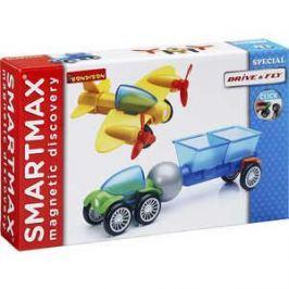 Bondibon Магнитный конструктор SmartMax Специальный (Special) набор: На земле и воздухе 204