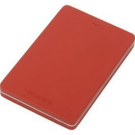 Внешний жесткий диск Toshiba 1Tb Canvio Alu red (HDTH310ER3AA)
