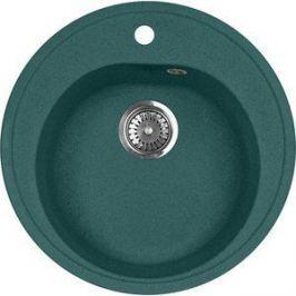 Кухонная мойка AquaGranitEx M-08 505х505 зеленый (M-08 (305))