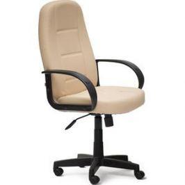 Кресло TetChair СН747 кож/зам, бежевый, 36-34