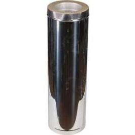 Труба Феникс сэндвич 120/200 мм длина 0.5 м сталь AISI 430 (1.0 нерж.мат./0.5 нерж.зерк.)(00950)