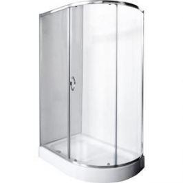 Душевой уголок Rush Fiji 120x80 см профиль хром, стекло прозрачное (FI-A180120-L)