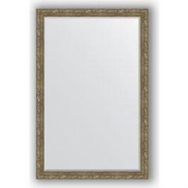 Зеркало с фацетом в багетной раме поворотное Evoform Exclusive 115x175 см, виньетка античная латунь 85 мм (BY 3619)