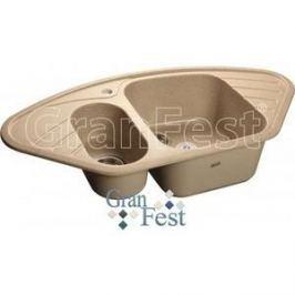 Мойка кухонная GranFest гранит угловая 960x510 (Gf-C960E песок)