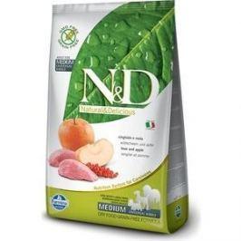 Сухой корм Farmina N&D Adult Dog Medium GF Boar & Apple беззерновой с мясом кабана и яблоком для собак всех пород 2,5кг (20345)