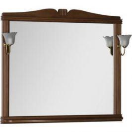 Зеркало Aquanet Николь 110 орех, массив бука (180521)