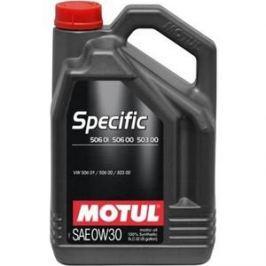 Моторное масло MOTUL Specific 506 01 / 506 00 / 503 00 0W-30 5 л