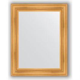 Зеркало в багетной раме поворотное Evoform Definite 72x92 см, травленое золото 99 мм (BY 3187)