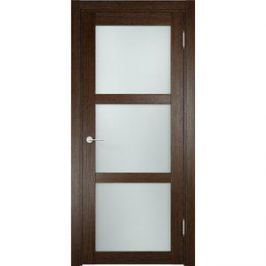 Дверь ELDORF Баден-2 остекленная 2000х700 экошпон Дуб табак