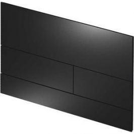 Панель смыва TECE TECEsquare II (9240833) металлическая чёрная матовая