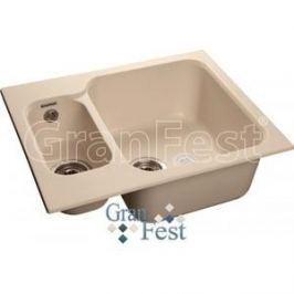 Мойка кухонная GranFest гранит 615x500 (Gf-S615K белая)