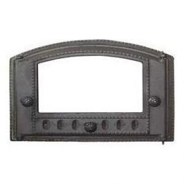 Дверца каминная Балезино ДТК со стеклом