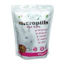 Корм Fiory Micropills Vet Care Obesity Dwarf Rabbits для карликовых кроликов 850г