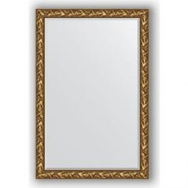 Зеркало с фацетом в багетной раме поворотное Evoform Exclusive 119x179 см, византия золото 99 мм (BY 3623)