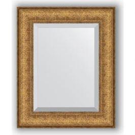 Зеркало с фацетом в багетной раме Evoform Exclusive 44x54 см, медный эльдорадо 73 мм (BY 1365)