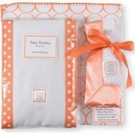 Подарочный набор SwaddleDesigns для новорожденного Gift Set Orange Mod Circle (SD-022O-G)