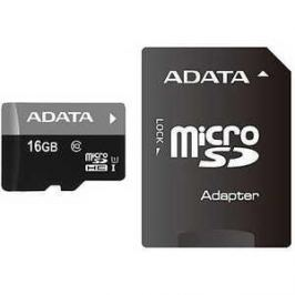 A-Data microSDHC Class 10 UHS-1 (SD адаптер) (AUSDH16GUICL10-RA1)