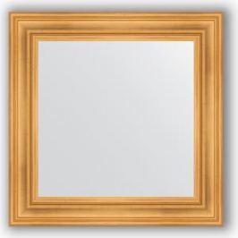Зеркало в багетной раме Evoform Definite 72x72 см, травленое золото 99 мм (BY 3155)