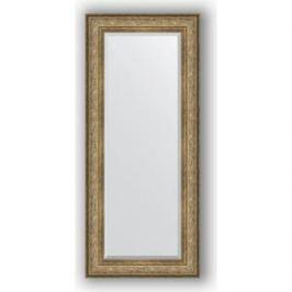 Зеркало с фацетом в багетной раме поворотное Evoform Exclusive 65x150 см, виньетка античная бронза 109 мм (BY 3555)