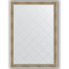 Зеркало с гравировкой поворотное Evoform Exclusive-G 132x187 см, в багетной раме - серебряный акведук 93 мм (BY 4497)