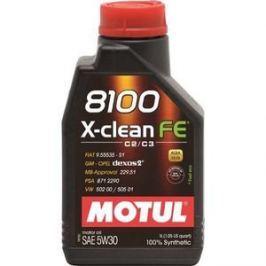 Моторное масло MOTUL 8100 X-Clean FE 5w-30 1 л