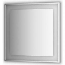 Зеркало в багетной раме поворотное Evoform Ledside со светильником 26,5 W 90x90 см (BY 2211)