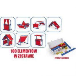 Игровой констуктор домик Keter Megado сине-красный 17200123