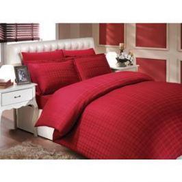 Покрывало Hobby home collection 2-х сп, бамбук, Diamond plaid, бордовый (1501000357)