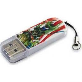 Флеш накопитель Verbatim 16GB Mini Tattoo Edition USB 2.0 Дракон (49888)