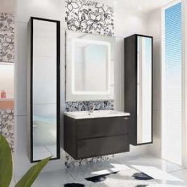 Комплект мебели Акватон Римини 80 чёрный