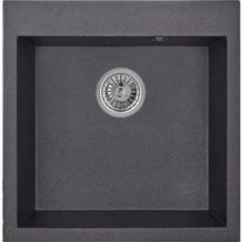 Мойка кухонная Granula 50,5х51 см черный (GR-5102 черный)