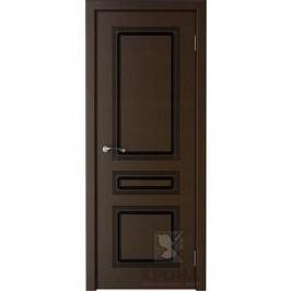 Дверь VERDA Стиль глухая 2000х700 шпон Венге