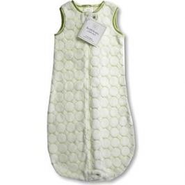 Спальный мешок SwaddleDesigns zzZipMe 3-6 М Kiwi Puff Circle (SD-084KW)