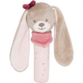 Игрушка мягкая Nattou Cri-Cris (Наттоу Кри Крис) Nina, Jade & Lili Кролик 987134