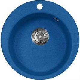 Кухонная мойка AquaGranitEx M-05 470х470 синий (M-05 (323))